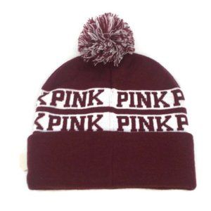 3/$20 New Victoria Secret PINK Knit Beanie Hat